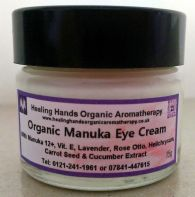 Natural Organic Aloe Vera Uplifting Eye Cream with Manuka Honey -15g